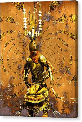 Spirit Dance Canvas Print by Kurt Van Wagner