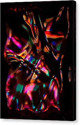 Spirit Dancer In Color And Light Canvas Print