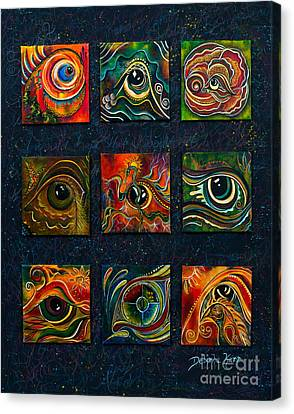 Spirit Eye Collection I Canvas Print