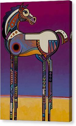 Spirit Horse Canvas Print by Bob Coonts