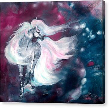 Spirit Horse Canvas Print by Sherry Shipley