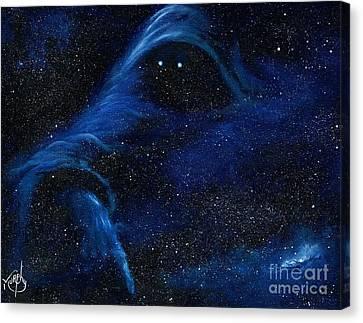 Cosmic Space Canvas Print - Spirit In Space by Murphy Elliott