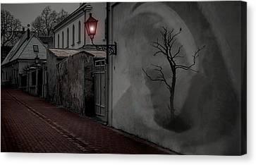 Spirit In The Night Canvas Print