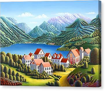 Spirit Mountains Canvas Print