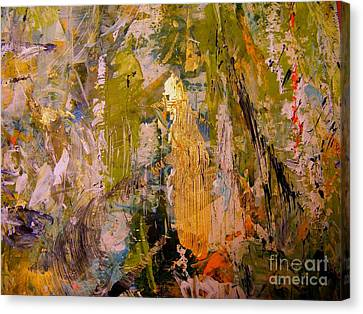 Canvas Print featuring the painting Spirit by Nancy Kane Chapman