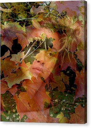 Canvas Print featuring the photograph Spirit Of Autumn  by Jodie Marie Anne Richardson Traugott          aka jm-ART