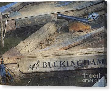 Canvas Print featuring the photograph Spirit Of Buckingham by Pete Hellmann