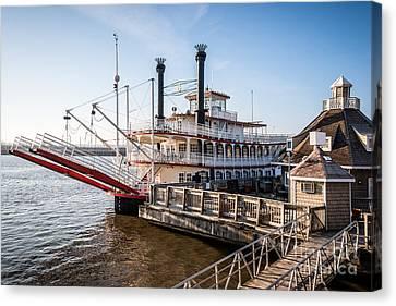 Spirit Of Peoria Riverboat In Peoria Illinois Canvas Print