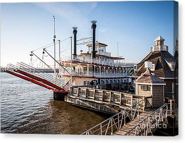 Spirit Of Peoria Riverboat In Peoria Illinois Canvas Print by Paul Velgos
