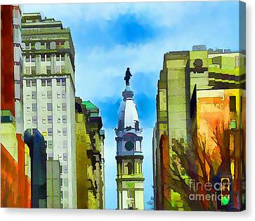 Spirit Of Philly Canvas Print by Robyn King