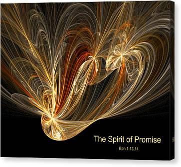 Spirit Of Promise Canvas Print by R Thomas Brass