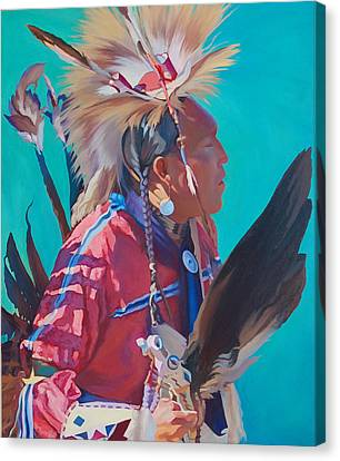 Spirit Of The Dance Canvas Print