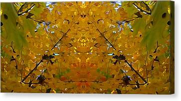 Spirit Of The Forest Autumn Canvas Print by Dan Sproul