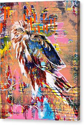 Spirit Of The Hawk Canvas Print