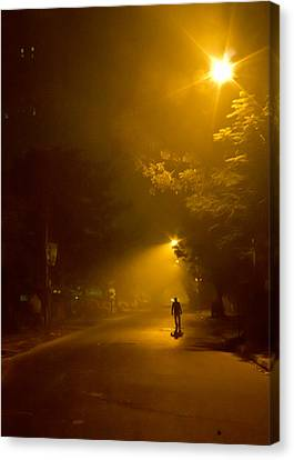 Spirit Of The Night Canvas Print by Sourav Bose