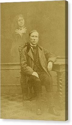 Spirit Photograph Canvas Print