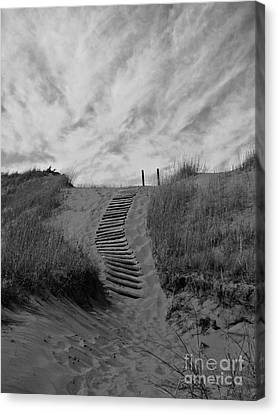Canvas Print featuring the photograph Spirit Sands by Cendrine Marrouat