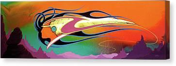 Spirit Wind Canvas Print