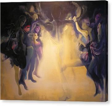 Spirits Canvas Print by Georg Douglas