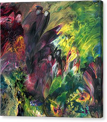 Spirits In The Material World Canvas Print by Miki De Goodaboom