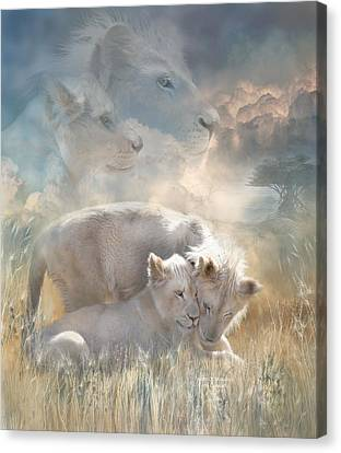 Spirits Of Innocence Canvas Print by Carol Cavalaris