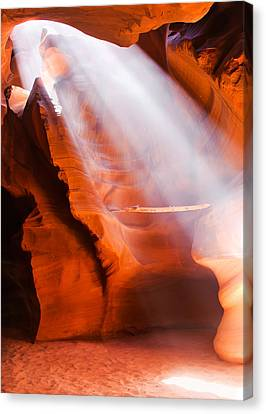 Spiritual Canyon - Upper Antelope Canyon Canvas Print
