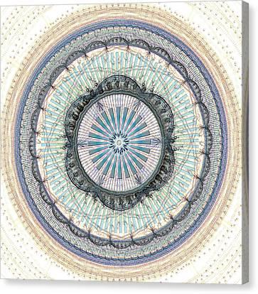 Yantra Canvas Print - Spiritual Growth by Anastasiya Malakhova