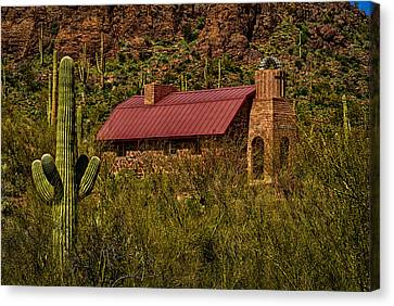 Canvas Print featuring the photograph Spiritual Oasis by Mark Myhaver