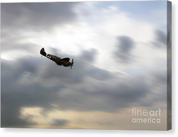 Spitfire Dive  Canvas Print by J Biggadike