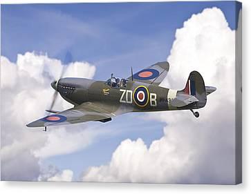 Spitfire Pass Canvas Print