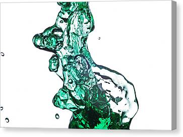 Splash 13 Canvas Print