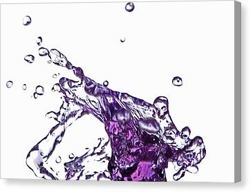 Splash 9 Canvas Print