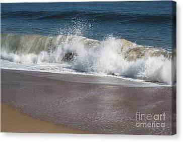 Canvas Print featuring the photograph Splash by Arlene Carmel