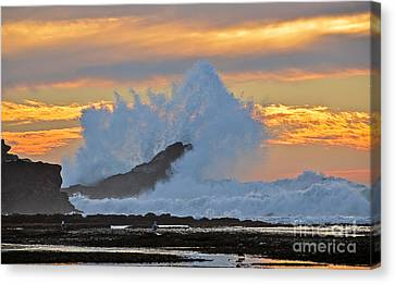Splash - Mavericks Canvas Print