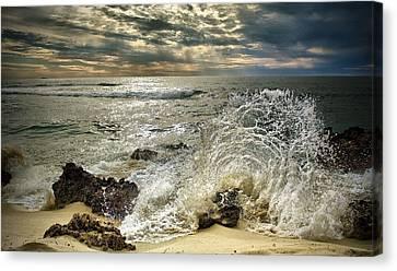 Splash N Sunrays Canvas Print