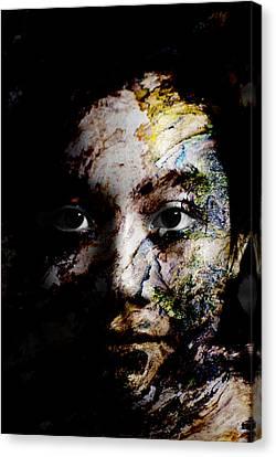 Splash Of Humanity Canvas Print by Christopher Gaston