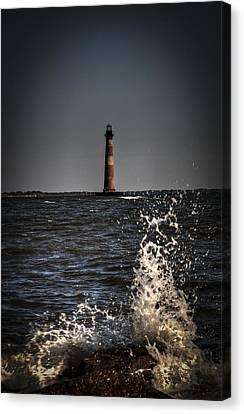 Splash Of Light Canvas Print by Deborah Klubertanz