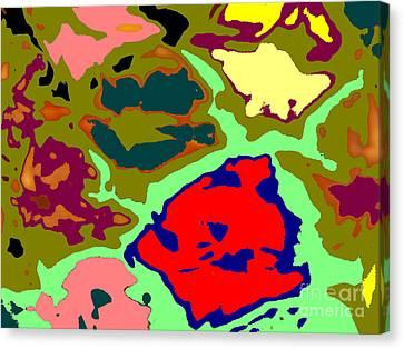 Splatter  Canvas Print by Joseph Baril