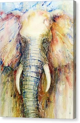 Watercolor Canvas Print - Splendor by Arti Chauhan