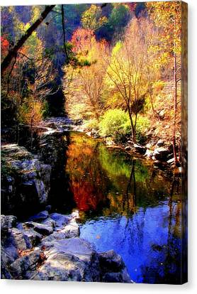 Splendor Of Autumn Canvas Print by Karen Wiles