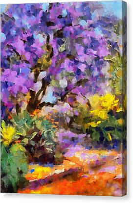 Splendor Of Nature Canvas Print by Georgiana Romanovna