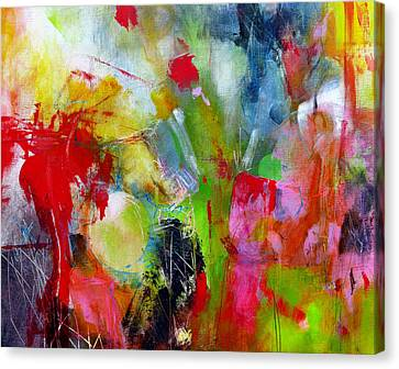 Canvas Print featuring the painting Splinter by Katie Black