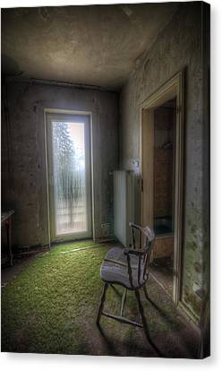 Split Chair Canvas Print by Nathan Wright