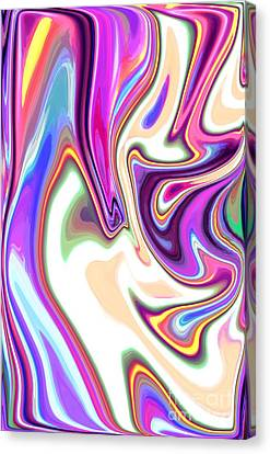 Split Personality Canvas Print by Chris Butler