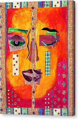 Canvas Print - Split Personality by Diane Fine