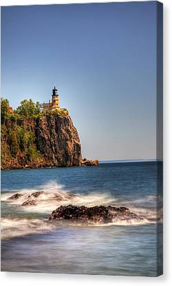 Split Rock Lighthouse Canvas Print by Shawn Everhart