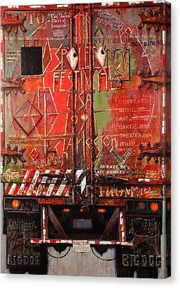 Spoleto Truck Canvas Print by Blue Sky