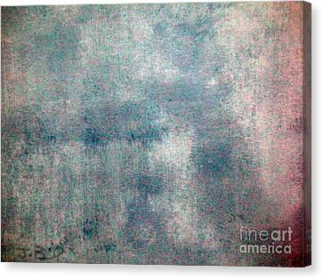 Sponged Canvas Print by Joseph Baril