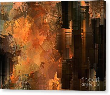 Spontaneous Combustion Canvas Print by Sydne Archambault