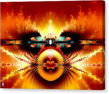 Starship Hades Nc 666 Canvas Print